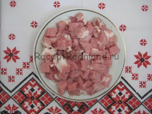 Филе свинины для плова