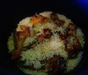 Куриные голени с рисом