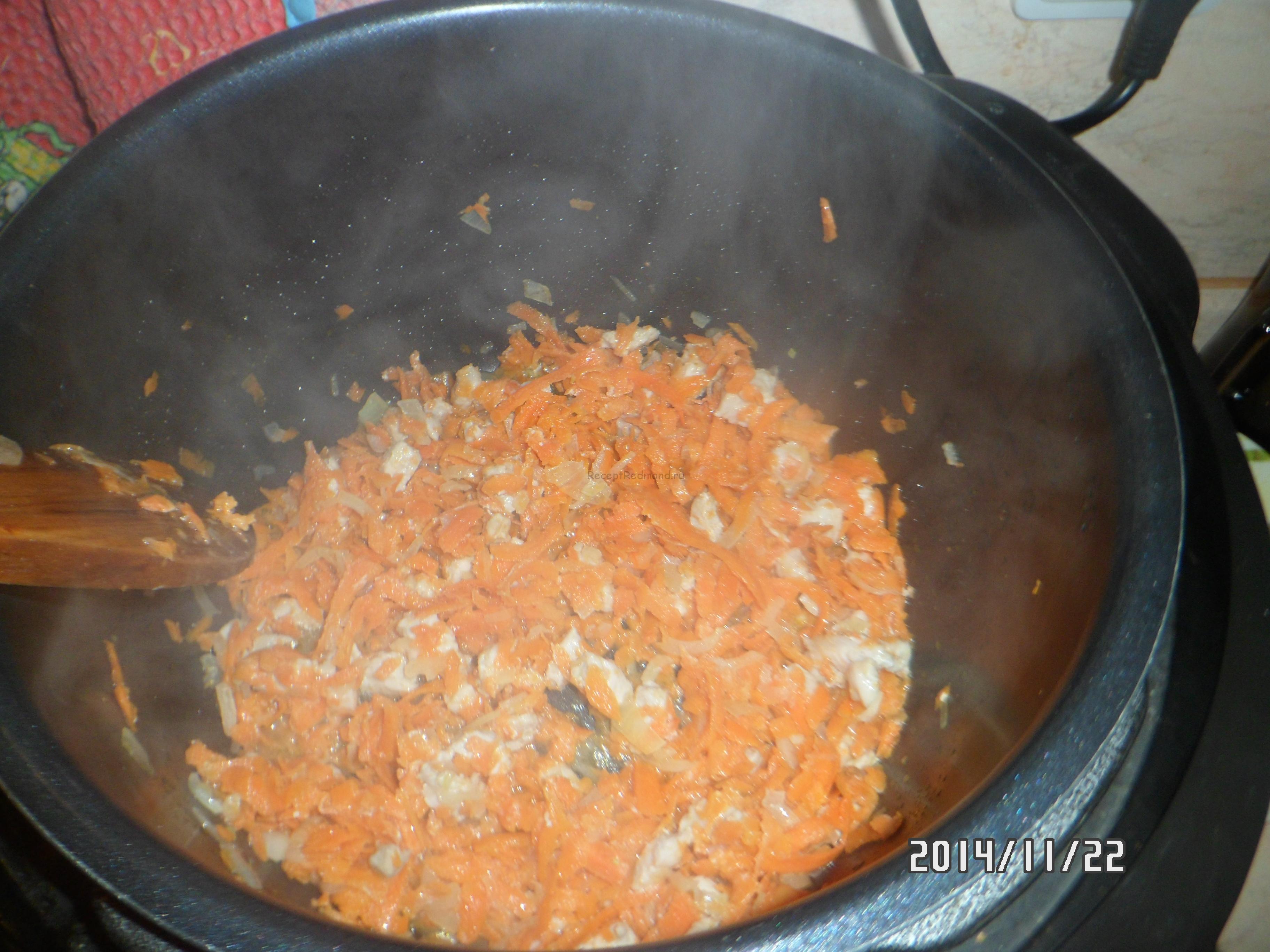 Рецепт тушеной капусты пошагово в мультиварке редмонд