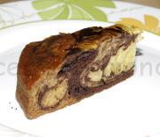 Тройной пирог Зебра