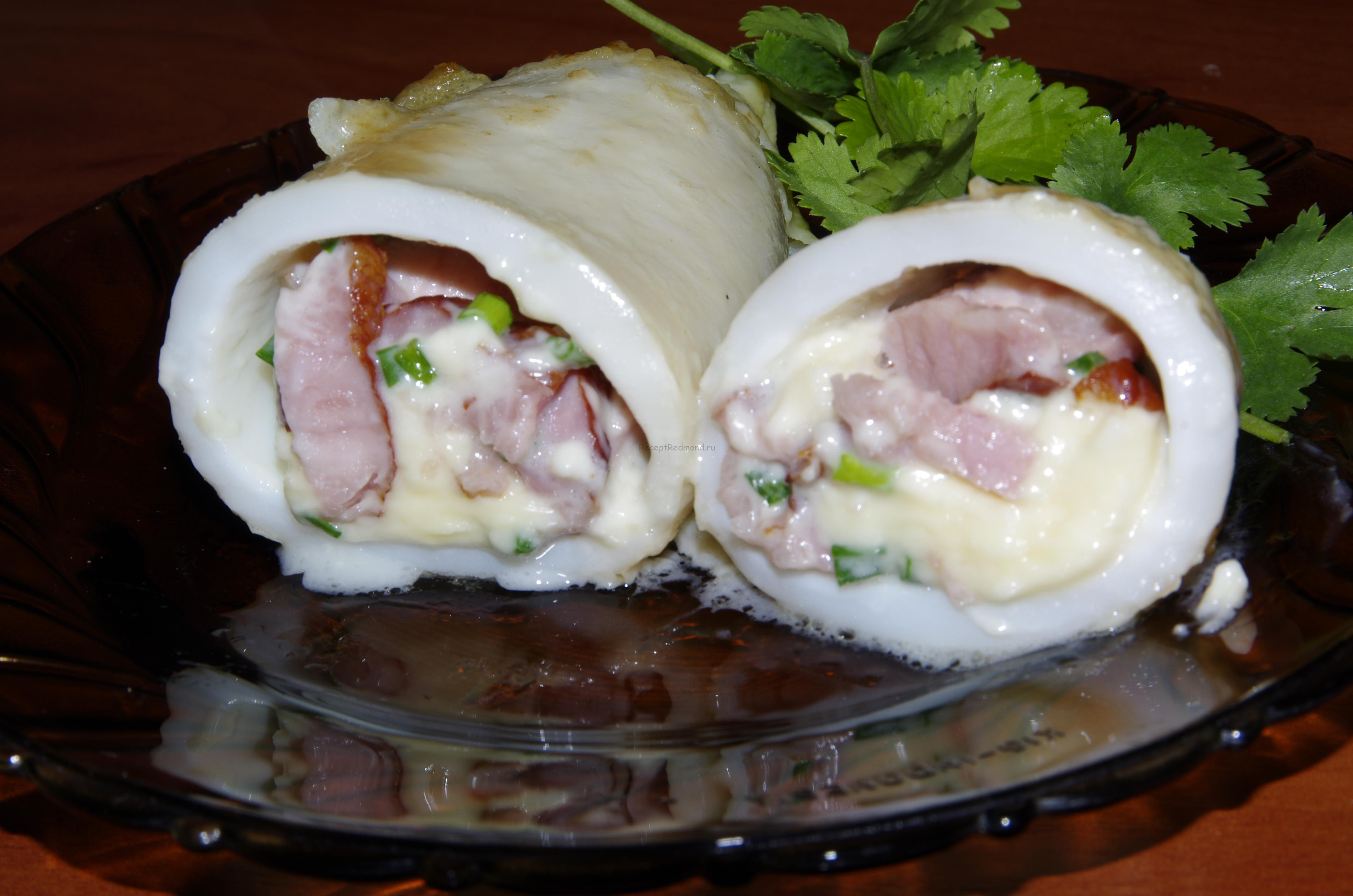 Соус для кальмаров фаршированных рецепт пошагово