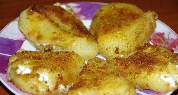 Перец,фаршированный сыром