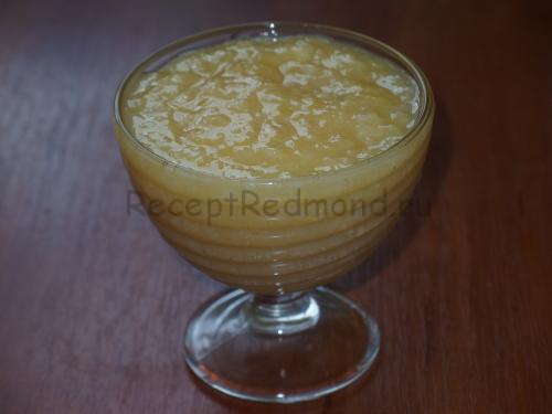 Готовое блюдо - лимонный джем в мультиварке
