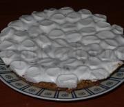 Яблочный пирог с маршмэллоу