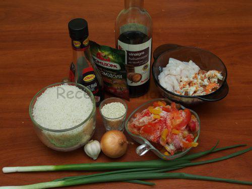 Ингредиенты для тайского риса