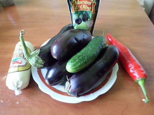 """Ингредиенты для приготовления закуски """"Павлиний хвост"""""""
