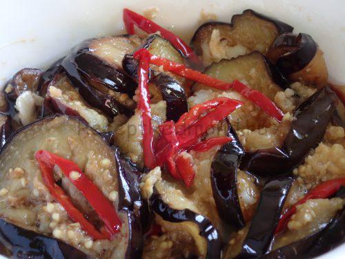 Баклажаны в имбирном соусе