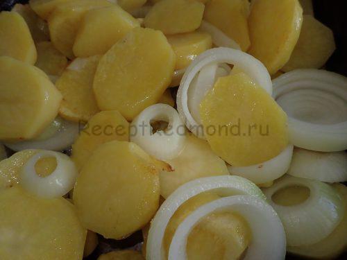 Обжарьте картофель